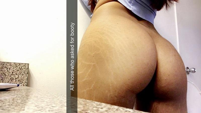 Morena nudes do snapchat muito safadinha e gostosa