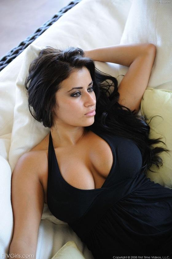 peitos nudelas morena gostosa linda4 Alexa Loren