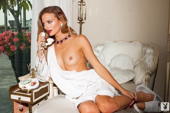 Amanda Boot loirinha magrela estino pinup na playboy