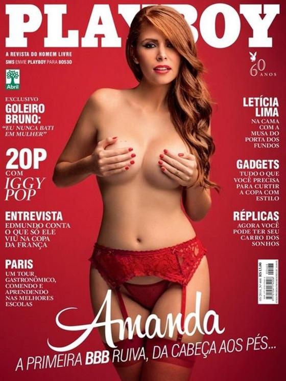 Amanda Gontijo BBB14 - Revista Playboy