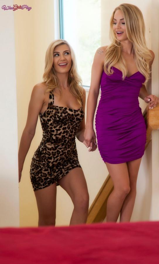 Amanda Tate e Staci Carr loiras bucetudas se chupando gostosas peladas