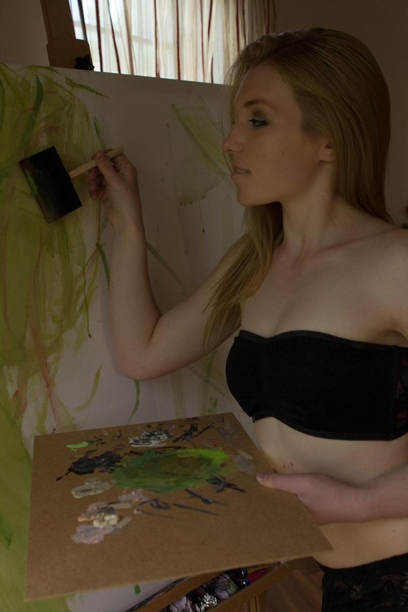 Amber A loirinha safada linda e muito gostosa bucetuda