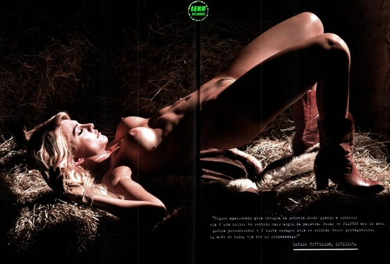 Antonia Fontenelle - Revista Playboy, fotos nua