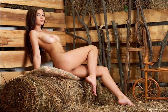 эро фото на сеновале