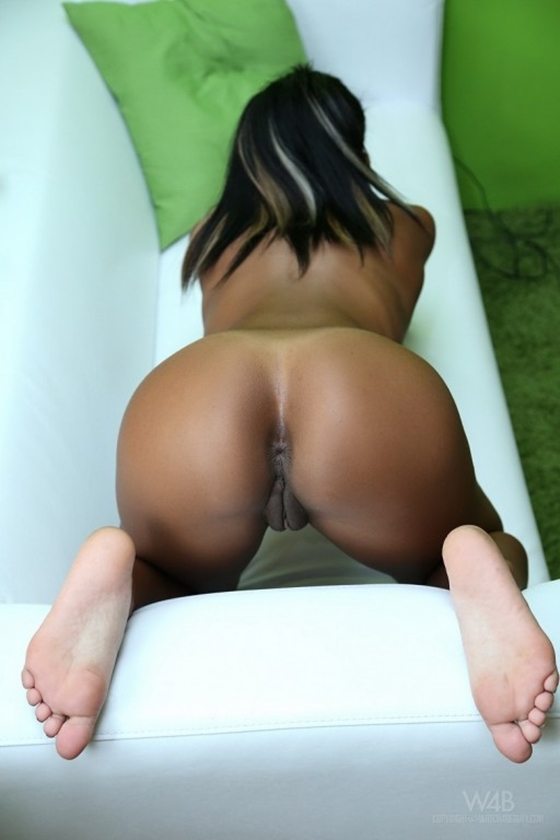 Mulher Negra Gostosa Nua