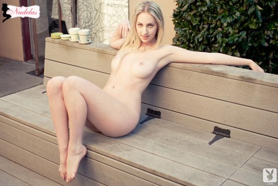Diana Rose loira linda pelada na Playboy
