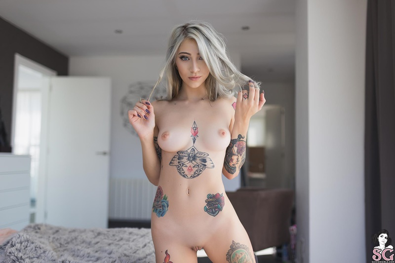 gorgeous half naked girl