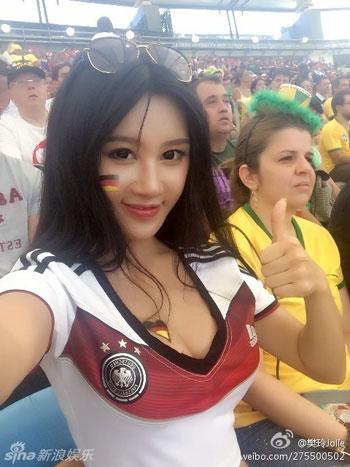 Japa copa brasil alemanha celular decote