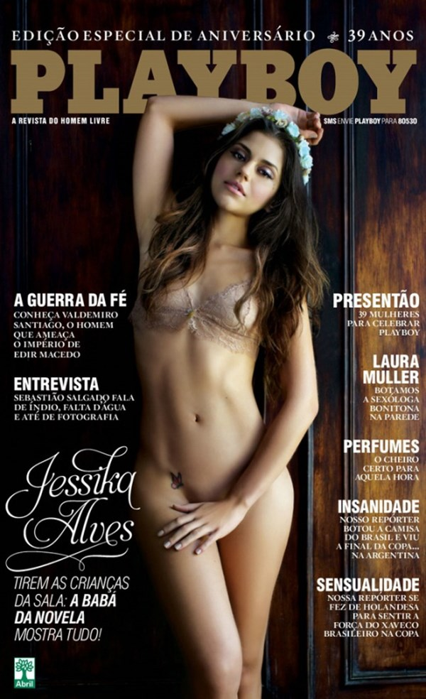 Jessika Alves - Revista Playboy essa mina é uma delícia, uma das mais tops da novela das 8.