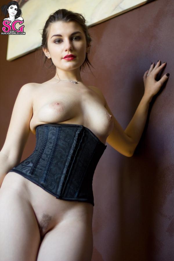 Amusing Suicide girl sasha showing tits right! Idea