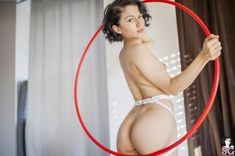 Ninfetinha gostosa e muito sensual de lingerie safadinha