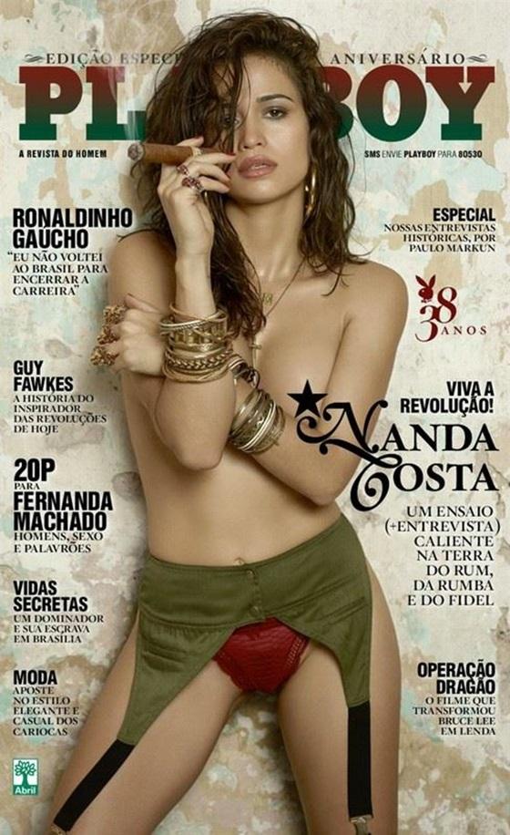 Essa Nanda Costa é muito linda, peludinha ou não.