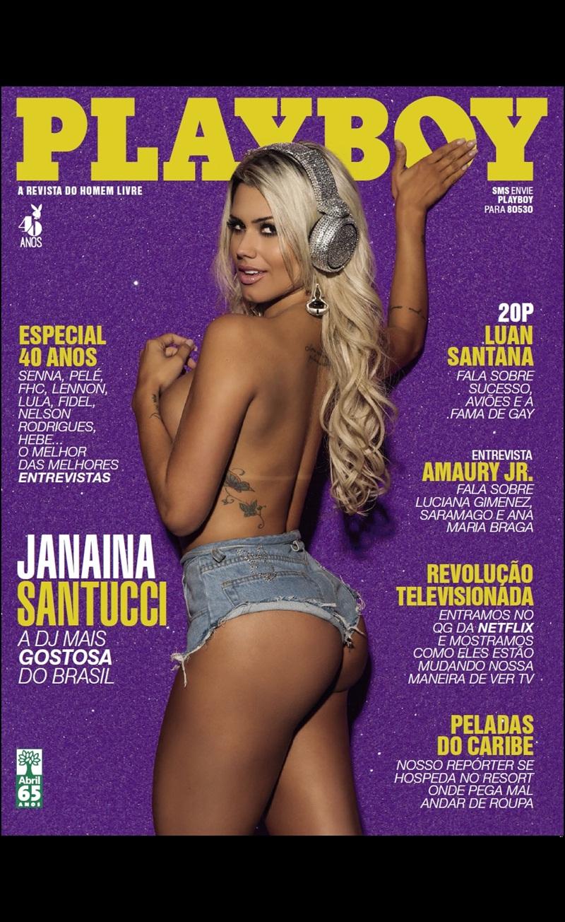 Dj Janaina Santucci loira peituda brasileira nua