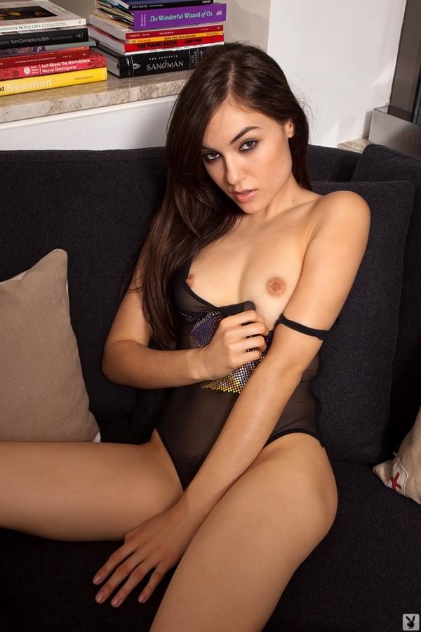 sasha grey naked playboy