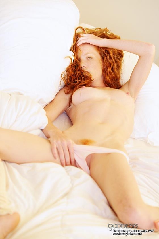 рыжие мастурбация фото