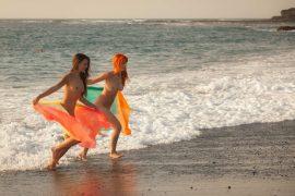 Lorena B and Ariel Piper Fawn